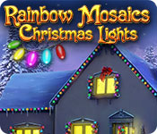 Радужная мозаика. Рождественские огни