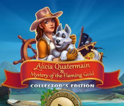 Алисия Квотермейн 3: И тайна огненного золота Коллекционное издание